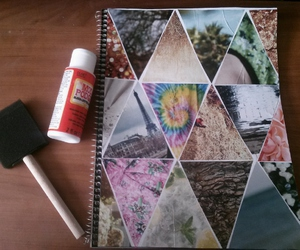 crafts, diy, and notebook image