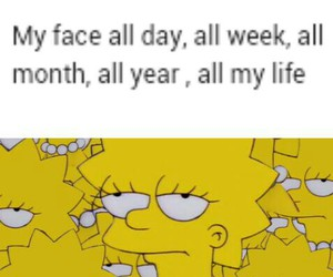 funny, true, and lisa simpson image