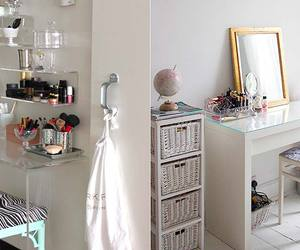 decor, dressing table, and inspiration image