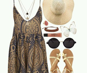 beach, funny, and outfit image