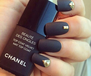 black, brands, and chanel image