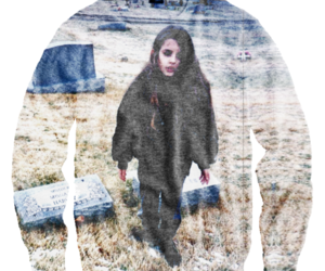 Alice Glass, long hair, and Crystal Castles image