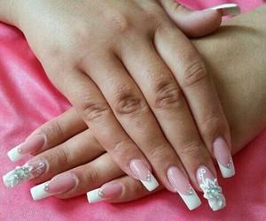 beauty, nailart, and hand image