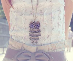 fashion, owl, and girl image