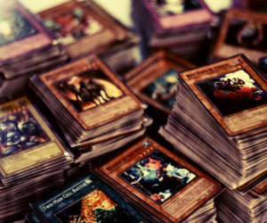 yugioh, cards, and anime image