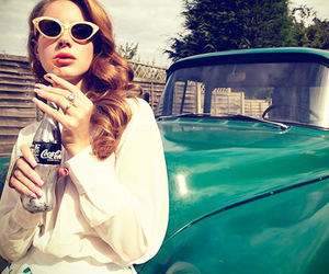 lana del rey, car, and vintage image