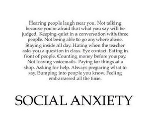 ?, anxiety, and i image