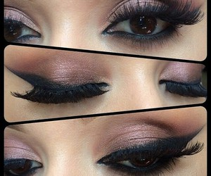 eyes, sexy, and makeup image
