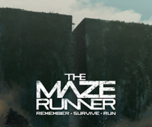 the maze runner, book, and movie image