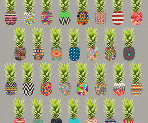 pattern and pineapple image
