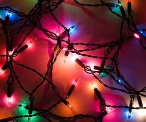 christmas, colors, and lights image