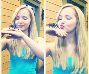 disney, spider, and dove cameron image