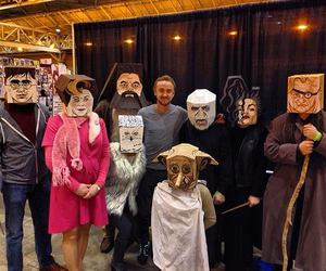 comic con, harry potter, and cosplay image