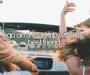 girl, Road Trip, and travel image