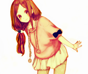 adorable, anime, and brown eyes image