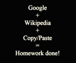 homework, google, and wikipedia image