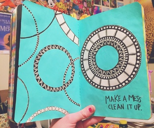diy, idea, and wreck this journal image