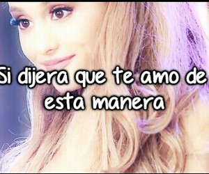 amor, frases, and ariana grande image