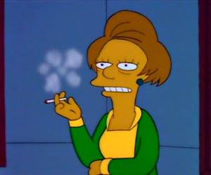 cartoon, cigarette, and Edna image