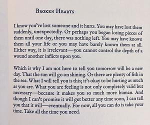 broken hearts, new day, and tomorrow image