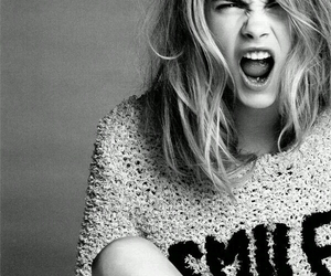 model, cara delevingne, and smile image