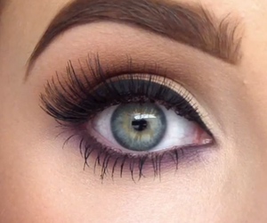 beauty, eyeliner, and eye image