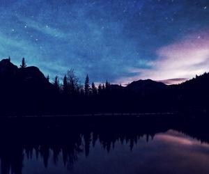sky, nature, and stars image