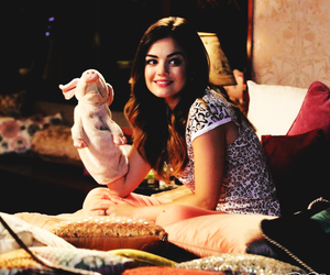 lucy hale, pll, and aria image