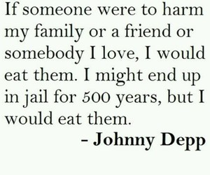 johnny depp and quote image