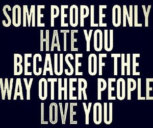 love, hate, and people image