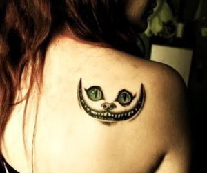 alice in wonderland, nice, and tattoo image