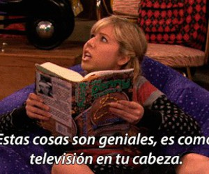 book, Sam, and icarly image