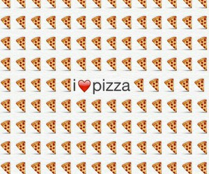 eat, food, and pizza image