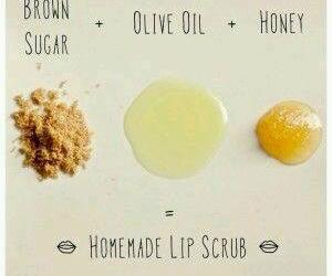 diy, homemade, and lip scrub image