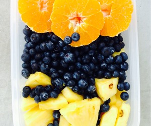 blueberries, fitness, and health image