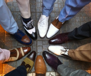 class, gentlemen, and shoes image