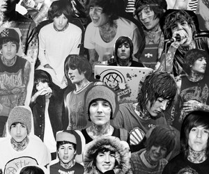 bands, bmth, and boys image