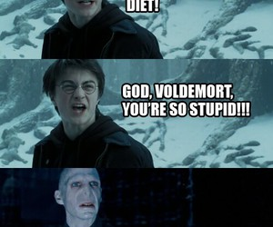 harry potter, voldemort, and mean girls image
