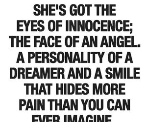 pain, angel, and quotes image