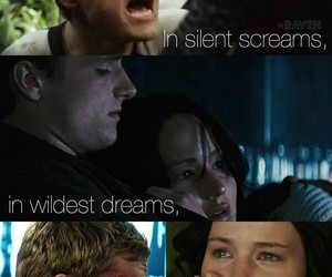Dream, hunger games, and mockingjay image