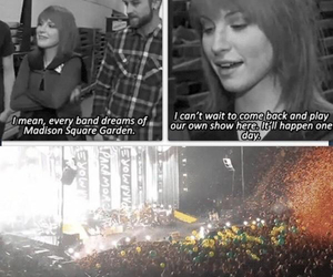 paramore and madison square garden image