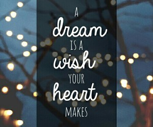 Dream, text, and heart image