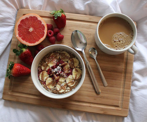 breakfast, food, and healthy image