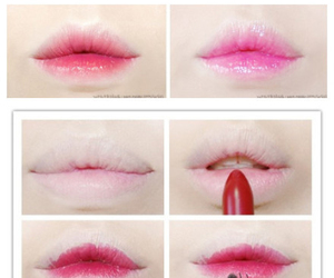 lips, makeup, and tutorial image