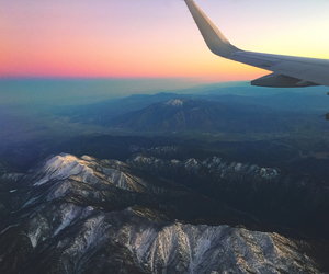 air, travel, and birds eye view image