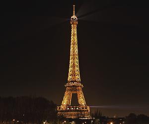 paris, beautiful, and lights image
