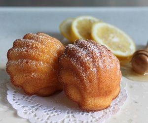 honey, lemon, and madeleines image