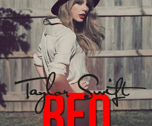 album, beautiful, and red image