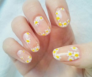 beautiful, design, and nails art image