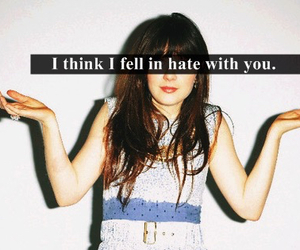 hate, quote, and you image